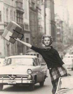 Helmut Newton 1960 | Love this look