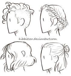 Short-Hair Reference Sheet by Kibbitzer on DeviantArt