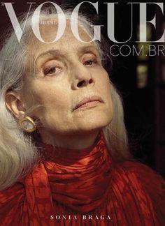 Sonia Braga - Capa da Vogue 2019