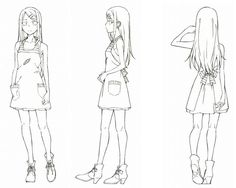 The official website of the upcoming anime adaptation of Kotoyama's Dagashi Kashi manga has revealed that the TV anime will be airing from January next. Female Reference, Anatomy Reference, Drawing Reference, Character Model Sheet, Character Modeling, Upcoming Anime, Manga Drawing Tutorials, Japanese Drawings, Another Anime