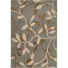 Winston Porter Richey Floral Jute/Sisal Multicolor Area Rug Rug Size: Rectangle x Floral Area Rugs, Floral Rug, Grey Rugs, Beige Area Rugs, Transitional Area Rugs, Transitional Style, Grey Home Decor, Thing 1, Rug Shapes