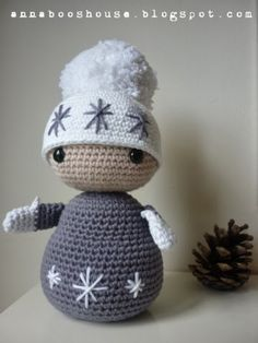ao with <3 / Annaboo's house: Free Winter Dolls Pattern link, thanks so xox