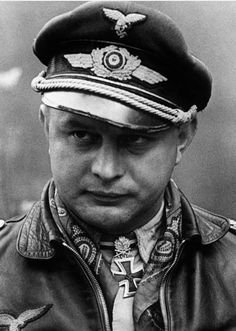 Lufwaffe pilot, winner of Iron Cross.  Does anyone know who he is?
