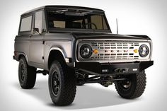 1966-1977 Ford Bronco Uncut(rare!) Flats Black Paint with a Small Lift -Sweet!!