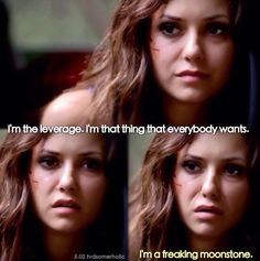 """S5 Ep2 """"True Lies"""" - Katherine. This was probably my favorite part of this episode."""