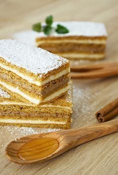 Sweet Sensation: croatian cuisine/hrvatska kuhinja Read Recipe by mejcor Bosnian Recipes, Croatian Recipes, Hungarian Recipes, Croatian Cuisine, Kolaci I Torte, Honey Cake, Let Them Eat Cake, Sweet Recipes, Cookie Recipes
