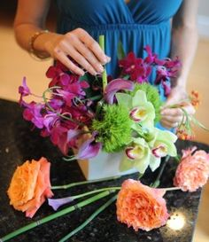 Floral designs made easy // sarah von  pollaro