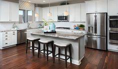 Style = this lavish kitchen in Las Vegas, NV   Madison plan by Richmond American
