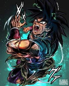 ozzyoz_da_vyrusEvery art piece thats drops gets more advanced with details and coloring? Base Broly shirts drop next week ? Get ready to order yours in advanced in time for the movie release? Go to the theaters with the hottest handdrawn Dragon Ball Gt, Super Manga, Mega Anime, Broly Movie, Animes Wallpapers, Anime Art, Otaku, Artwork, Geek