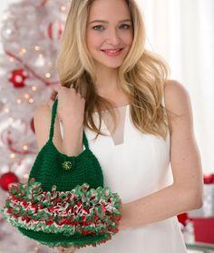 Designer Ruffle Bag FREE crochet pattern