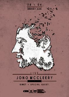 poster for another great gig in nuspirit club with mighty jono mccleery from ninjatune. Special Guest, Spirit, Posters, Artwork, Work Of Art, Auguste Rodin Artwork, Poster