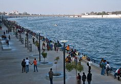 The Sabarmati Riverfront Development Project is an initiative started by the Ahmedabad Municipal Corporation to develop the Sabarmati riverfront in Ahmedabad. It is being developed by the Sabarmati Riverfront Development Corporation Limited (SRFDCL). It is the largest slum displacement project till now. Please Shopping This site:- http://sendrakhitoahmedabad.com/