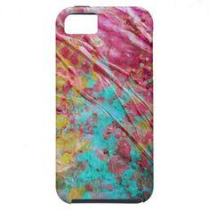Uniquely Wrinkled Paint Spatter Case iPhone 5 Case $48.95