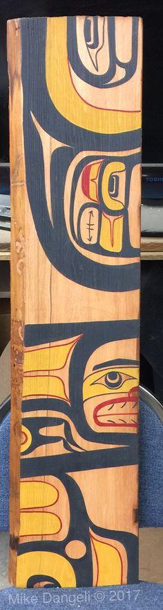 "Plank # 2 10""X41"" original painting"