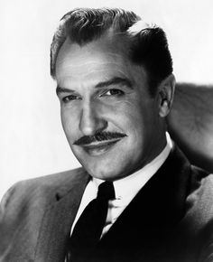"Vincent Price-  Actor, writer, and gourmet,  Price starred in may acclaimed Gothic horror movies. He wrote the cookbook ""A Treasury of Great Recipes"" in 1965. He gave over 800 performances in the U.S. and Australia between 1977 and 1980 in his one-man show 'Diversions & Delights', playing Oscar Wilde. Price was at his brilliant best, particularly at smaller, more intimate venues."