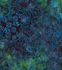 Batik fabric- Floral Swirl: batik fabric: quilting fabric & kits: fabric: Shop | Joann.com