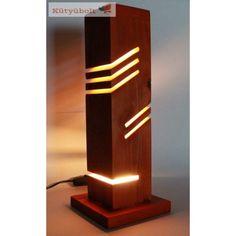 Modern Dekoratív Asztali Fa Led Lámpa. Szép és energiatakarékos hangulatvilágítás a fa szerelmeseinek. Ez egy kézzel készített, modern megjelenésű, dekoratív asztali fa Led lámpa. A hangulatvilágítás otthonunk igazi dísze, a hálószobában, nappaliban vagy a gyerekszobában elhelyezve egyaránt. Ahogy a neve is sugallja, az ilyen típusú világítás funkcionálisan is használható a szoba megvilágítására, de hangulatvilágításként és dekoratív kiegészítőként is tökéletes. Lighting, Home Decor, Dekoration, Decoration Home, Room Decor, Lights, Home Interior Design, Lightning, Home Decoration