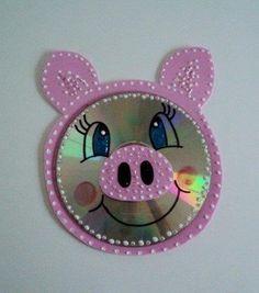 30 Manualidades com CD's para crianças - Aluno On
