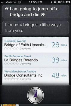 Oh Siri, you sleigh me.