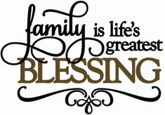 Silhouette Online Store - View Design #50720: family life's greatest blessing - vinyl phrase