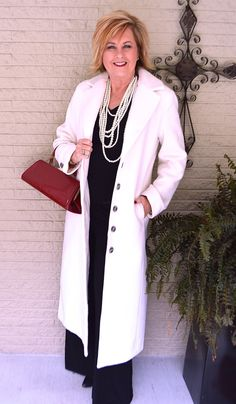 50 IS NOT OLD | METROSTYLE FOR THE HOLIDAYS | Long Wool Coat | Stylish | Classic | Dress Coat | Fashion over 40 for the everyday woman | #metrostyle #affordablequaity #fashionoverfifty #ad @metrostyle