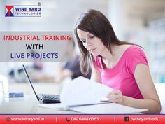 Industrial ‪#‎Training‬ with live ‪#‎Projects‬. Register Now : http://wineyard.in/