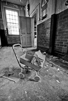 West Park Mental Hospital, London. Built in the 1920s, closed 2003.