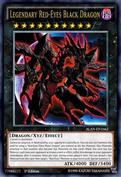 Legendary Red-Eyes Black Dragon by ALANMAC95 on DeviantArt