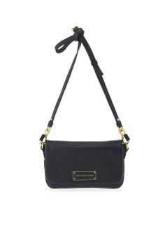 """marc by marc jacobs - """" Too Hot to Handle Flap Percy """" - Noir - Prix: €193.42 (environ)"""