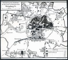 Königsberg (Pr.), Stadtplan II