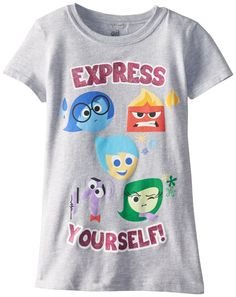 Disney PIxar INSIDE OUT Apparen for gilrs and boys