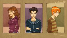 Hp characters_serie 1 by mary-dreams on DeviantArt