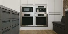 Kitchen Oven Stainless Finish