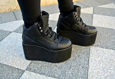 Silvia from The Forest Elf in the Alliance Platform Sneaker by YRU (http://www.nastygal.com/shoes/alliance-platform-sneaker)