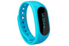 CUBOT Wireless Activity Wristband Smart Fitness Tracker with a Pedometer Step Counter Distance Counter Sleep Monitor Blue -- Visit the image link more details. Smart Fitness Tracker, Making The Band, Fitness Watch, Fitness Band, Track Workout, Fun Workouts