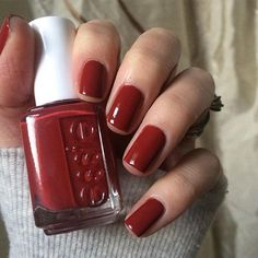 """7,014 Likes, 33 Comments - essie (@essiepolish) on Instagram: """"this red mani is bound to heat things up no matter where you take her. comment a if you love…"""""""