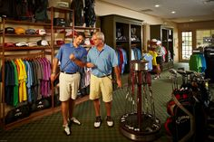 Full pro shop and grille in the Woodforest Golf Club. Open to the public. Golf Pro Shop, Merchandising Displays, Shop Displays, Golf Stores, Golf Player, Play Golf, Golf Tips, Golf Clubs, Public