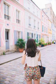 Paris Colorful Street