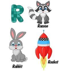 R alphabet vector Zebra Cartoon, Cartoon Whale, Penguin Cartoon, Horse Cartoon, Cartoon Elephant, Bubble Alphabet, V Alphabet, Animal Alphabet, Kids Reading Books