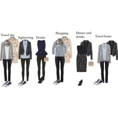 """Paris outfits"" by hii-live on Polyvore. I just like how everything is put together. Would be great for fall."