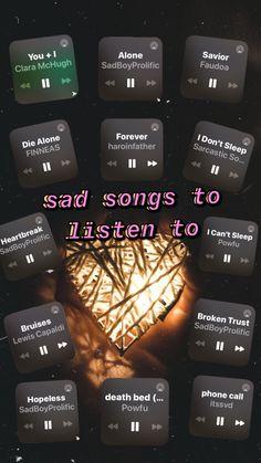 visit my spotify page🎶 My Music Playlist, Music Lyrics, Music Songs, Heartbreak Songs, Breakup Songs, Music Mood, Mood Songs, Saddest Songs, Best Songs