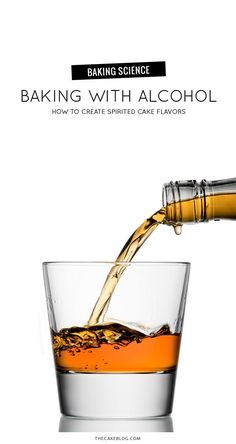 Baking With Alcohol. How to create spirited cake flavors.