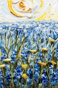 Paintings by artist Justin Gaffrey Painting Inspiration, Art Inspo, Muse Art, Art For Art Sake, Texture Art, Art Oil, Art Lessons, New Art, Flower Art