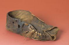 hallein celtic | Shoe, Dürrnberg Hallein Salzburg salt mine, Hallstatt culture, VII-V ...