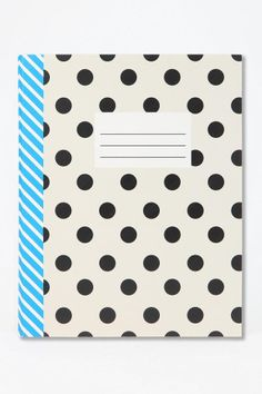 Consider bringing a cute notebook with you. Sometimes it's easier to write than to type...and you won't want to miss anything!  Graphic Notebook #urbanoutfitters