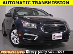 New Chevy Cruze Auto Sales And Specials Progressive Chevrolet