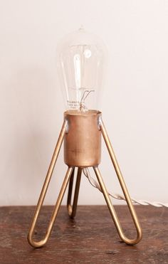 That Kind Of Woman · continuarte:   Retronaut - Rocket Lamp w/Edison...
