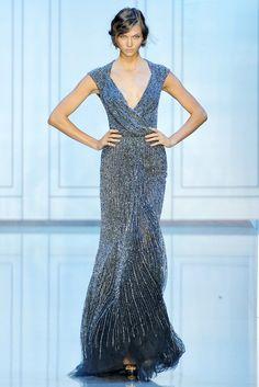Elie Saab Fall 2011 Couture Fashion Show - Karlie Kloss (IMG)