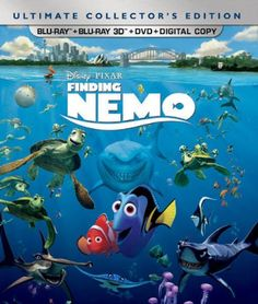 Finding Nemo (Five-Disc Ultimate Collector's Edition: Blu-ray 3D/Blu-ray/DVD   Digital Copy)