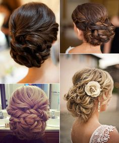 Hair wedding updos
